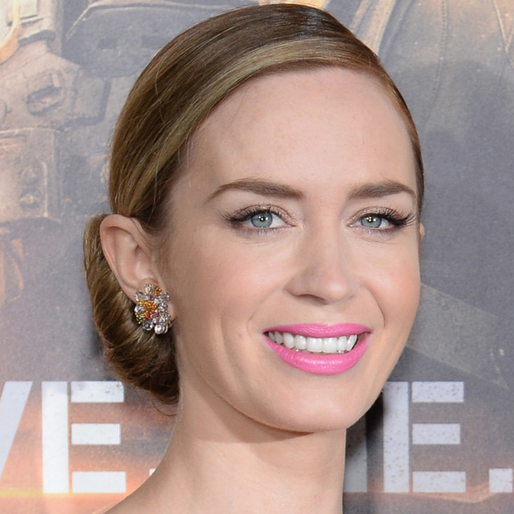 12. emily blunt pisces pink