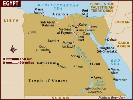 map_of_egypt