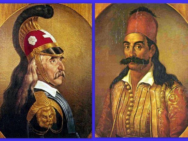Άστρα και Ήρωες-Λασκαρίνα Μπουμπουλίνα, Θεόδωρος Κολοκοτρώνης