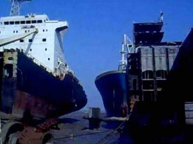 O καπετάνιος του πλοίου το... πάρκαρε καλά!