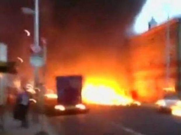 Δείτε το βίντεο από τη στιγμή της έκρηξης στο κέντρο του Λονδίνου