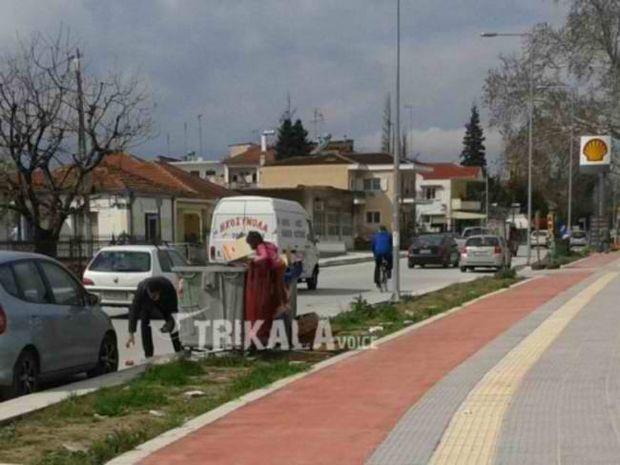 Τρίκαλα: Η σοκαριστική εικόνα που «πάγωσε» την Ελλάδα