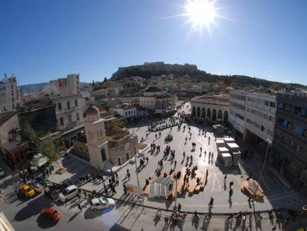Απίστευτη φωτογραφία: Αγνώριστη η πλατεία Μοναστηρακίου!