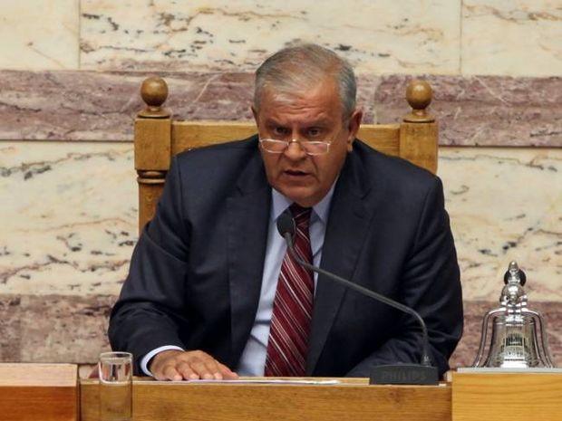 Πέθανε ο αντιπρόεδρος της Βουλής Αθανάσιος Νάκος