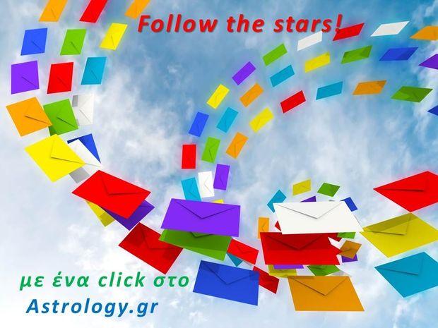 Follow the Stars: Εγγραφείτε στο newsletter του Astrology.gr!