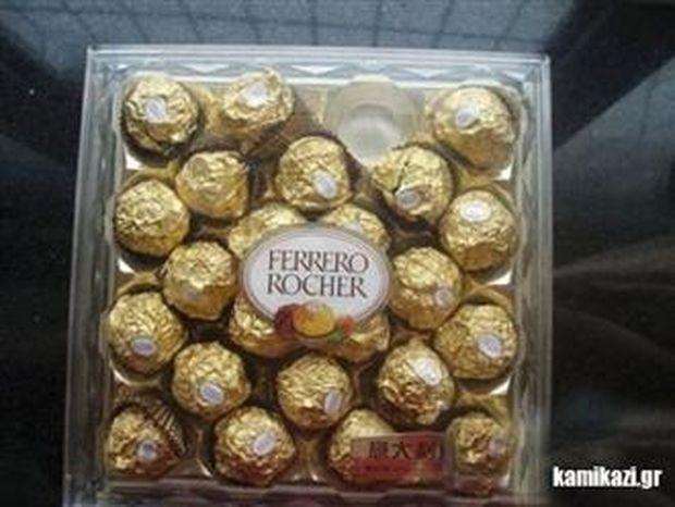 Μετά από αυτό ίσως να μην ξαναφάτε σοκολατάκια «Ferrero Rocher»