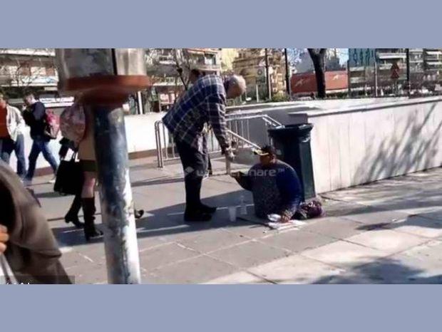 Αποκαλυπτικό βίντεο: Ο ανάπηρος ζητιάνος έβγαλε πόδια και... περπάτησε