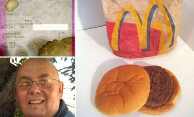 Απίστευτο: Δείτε πώς έγινε ένα hamburger μετά από... 14 χρόνια!