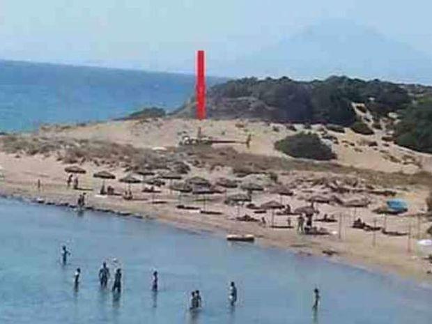 Απίστευτο: Δείτε πώς πάνε σε παραλία της Ηλείας!