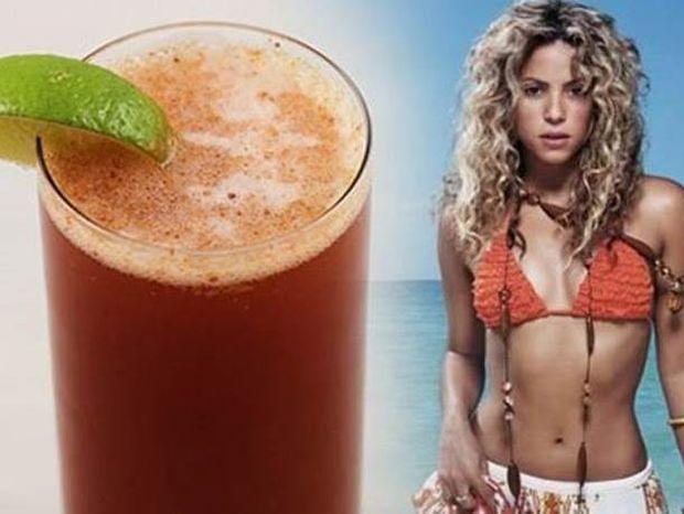 Κάνει θαύματα: Ο χυμός της Shakira που μειώνει την όρεξη!
