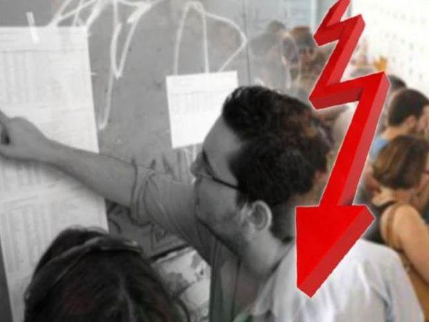 Βάσεις 2013: «Βουτιά» των βάσεων σε ΑΕΙ και ΤΕΙ