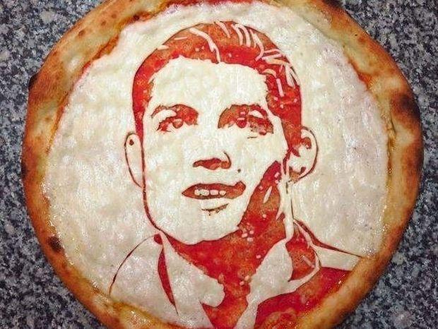 Έκαναν τον Ρονάλντο… πίτσα!