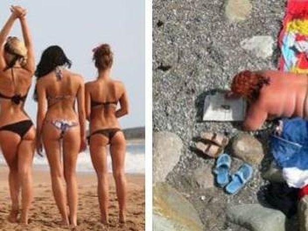 Πώς θα ήθελε και πώς πραγματικά είναι το καλοκαίρι ενός άντρα! (pics)