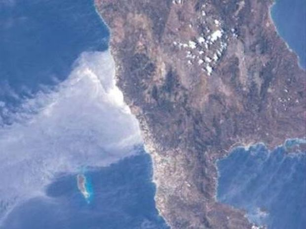 Η Κρήτη όπως τη βλέπει ένας αστροναύτης (φωτο)