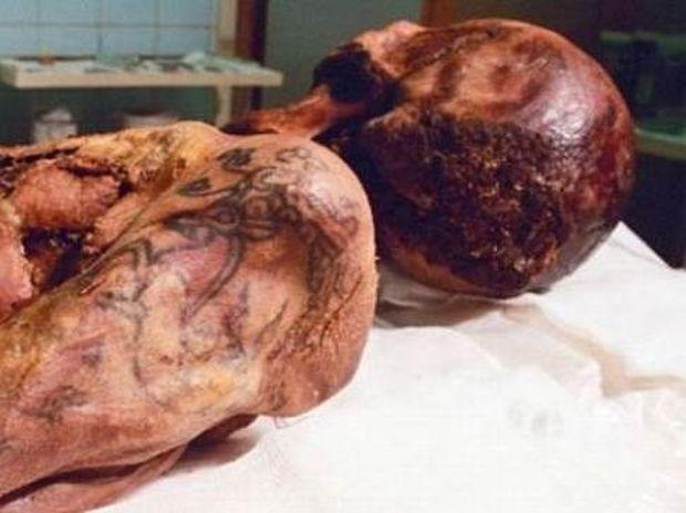 Πριγκίπισσα 2500 ετών με εντυπωσιακά τατουάζ! (pics)