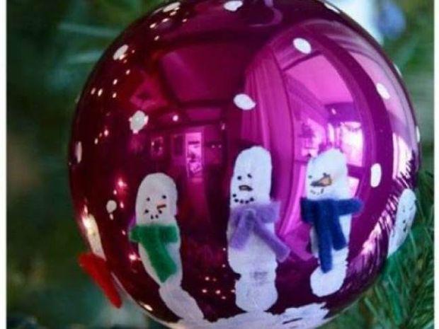 Φτιάξτε τις πιο πρωτότυπες χριστουγεννιάτικες μπάλες μόνες σας