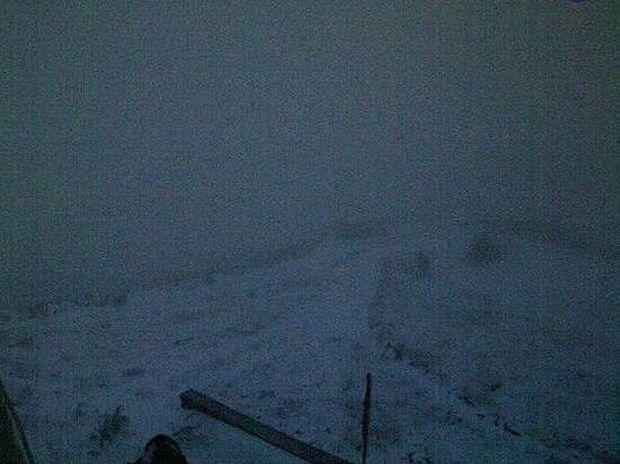 Δείτε live εικόνα από τα πρώτα χιόνια στη χώρα