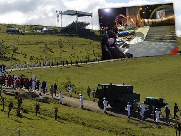 Η Νότια Αφρική «αποχαιρέτησε» τον Νέλσον Μαντέλα