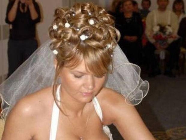 Δείτε τη νύφη που ξετρέλανε το Facebook (pic)