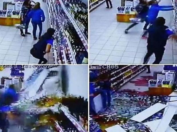 Το βίντεο που σαρώνει: Απίστευτο ατύχημα σε σούπερ-μαρκετ