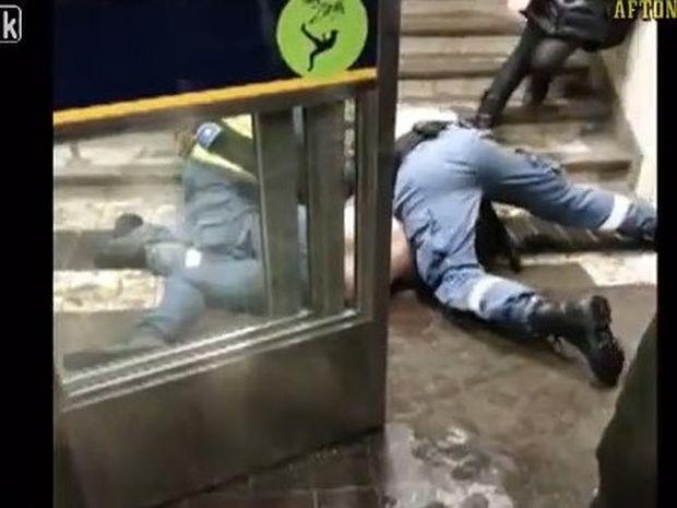 ΑΠΙΣΤΕΥΤΟ VIDEO: Κλέφτης κλέβει κλέφτη την ώρα που συλλαμβάνεται