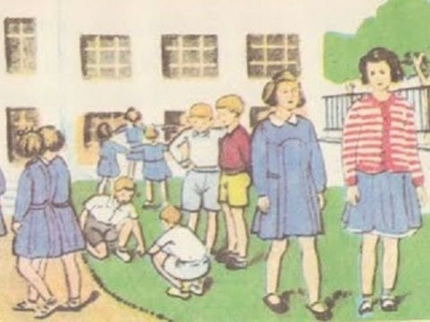 Η χρονιά που έπαψε η σχολική ποδιά να υπάρχει (εικόνες)