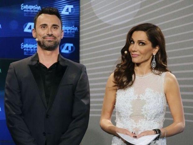 Ζώδια και αστέρια: Πόσα χρήματα πήραν Βανδή – Καπουτζίδης για τον τελικό της Eurovision;