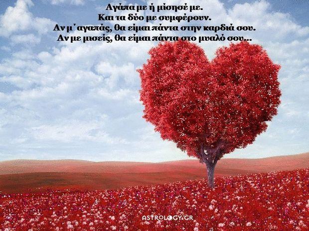 Μ΄ αγαπάς, δεν μ΄ αγαπάς...