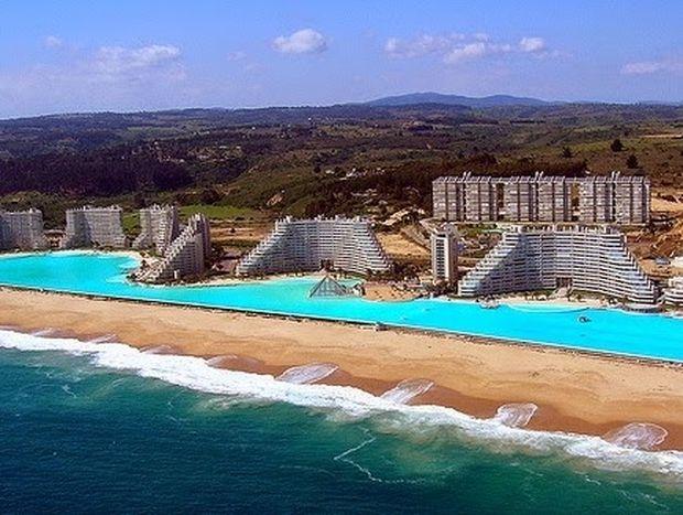ΑΠΙΣΤΕΥΤΕΣ ΕΙΚΟΝΕΣ: Η μεγαλύτερη πισίνα του κόσμου!