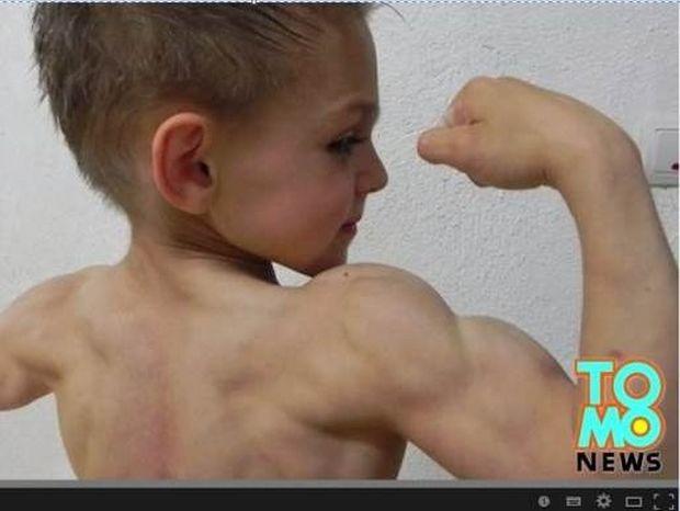 Οι νεότεροι μπόντι μπίλντερ του κόσμου! (βίντεο)