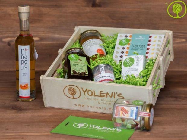 Κερδίστε ένα καλάθι με τοπικά προϊόντα από την εταιρία Yoleni's