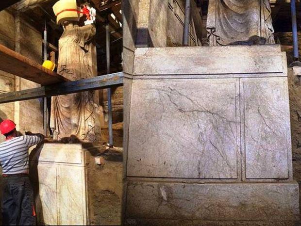 Αστρολογική επικαιρότητα, 1/10: Αποκαλύφθηκαν τα μαρμάρινα βάθρα των Καρυάτιδων της Αμφίπολης