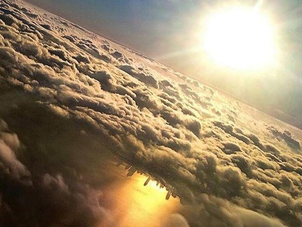 Δέκα υπέροχα θεάματα που μπορείς να δεις από το παράθυρο του αεροπλάνου