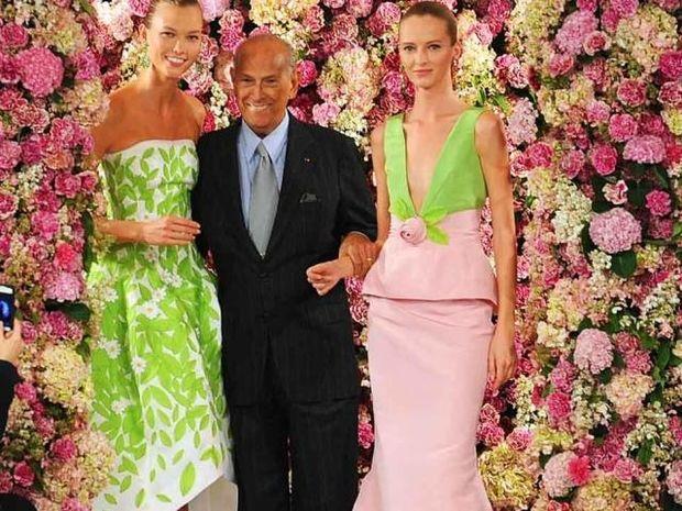 Oscar De la Renta: Η μόδα πενθεί για το θάνατο του διάσημου Καρκίνου σχεδιαστή