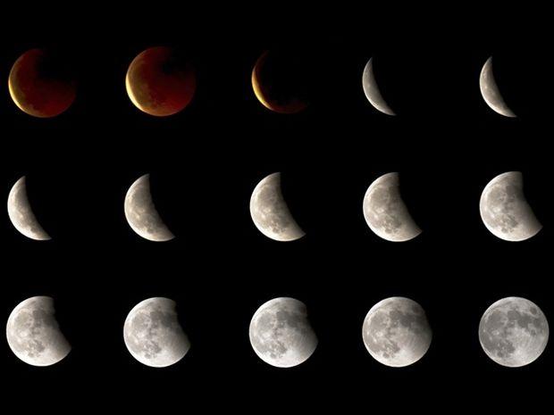 Ελλάδα: τα σεληνιακά φαινόμενα του Νοεμβρίου