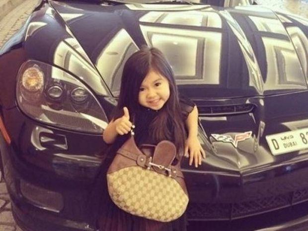 To 5χρονο κορίτσι που ζει με Chanel, λιμουζίνες & χλιδή (pics-video)