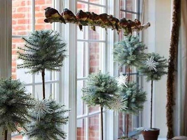 Πως να διακοσμήσουμε τα παράθυρα μας για τις γιορτές