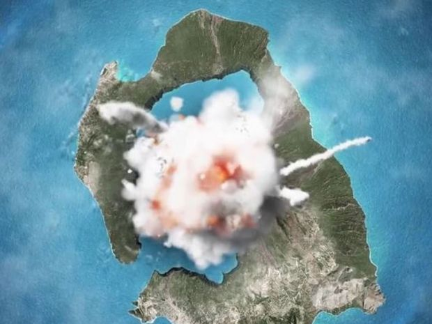 Η ιστορία του ηφαιστείου της Σαντορίνης