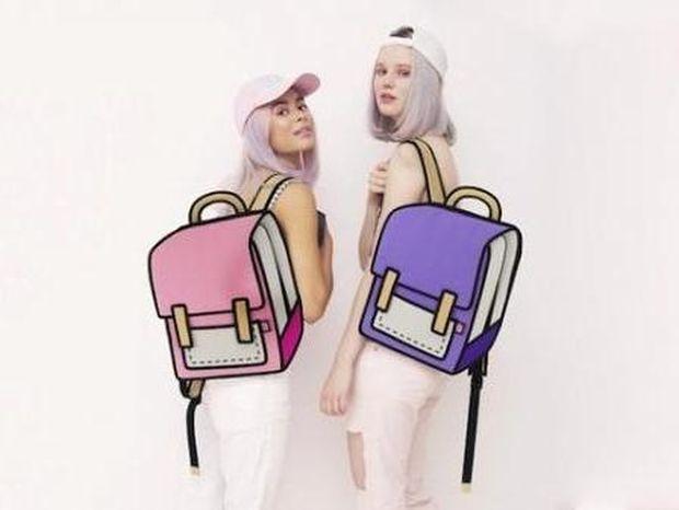 Αν νομίζετε ότι η τσάντα που βλέπετε είναι μια ζωγραφιά κάνετε μεγάλο λάθος