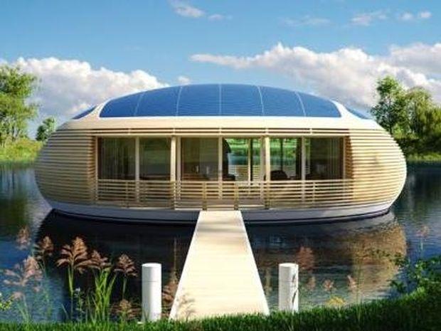 Αυτό το πλωτό σπίτι θα σας επιτρέψει να ζήσετε μες την φύση (photos)