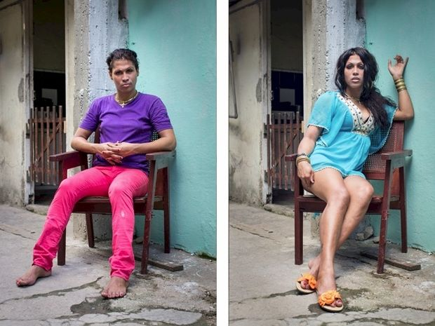 Φωτογραφίες ανθρώπων «πριν» και «μετά» την αλλαγή φύλου!