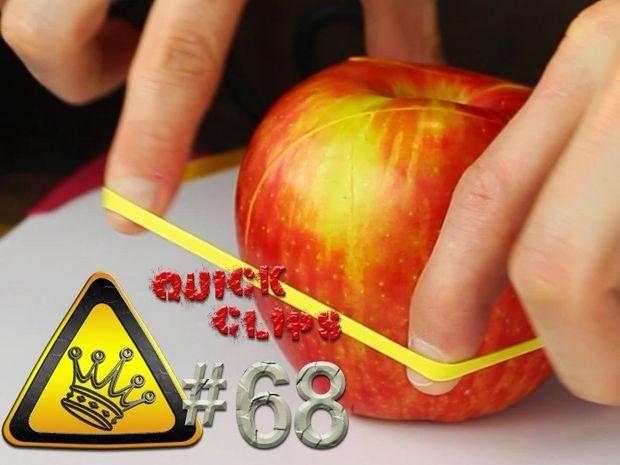 Νομίζετε ότι ξέρετε πως να κόψετε σωστά ένα μήλο; Δείτε αυτό το βίντεο και θα ενθουσιαστείτε!