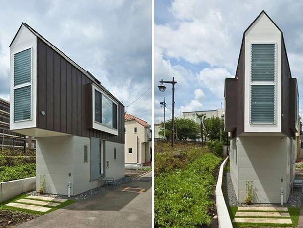Φαίνεται ένα πολύ στενό και μικρό σπίτι αλλά είναι από τα πιο αξιοζήλευτα στην Ιαπωνία!