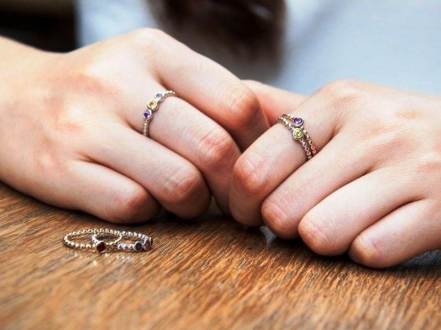 Τι δείχνουν για σένα τα δαχτυλίδια που φοράς;