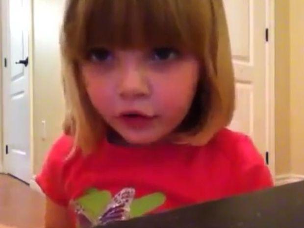 Τρομερή! Δείτε την εκπληκτική φάρσα που ετοίμασε αυτή η μικρή στον μπαμπά της (video)