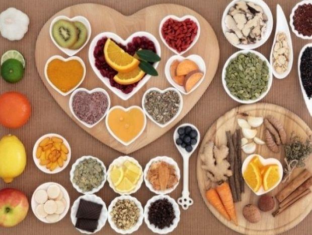 Οι τροφές με τις περισσότερες αντιγηραντικές βιταμίνες (γράφημα)