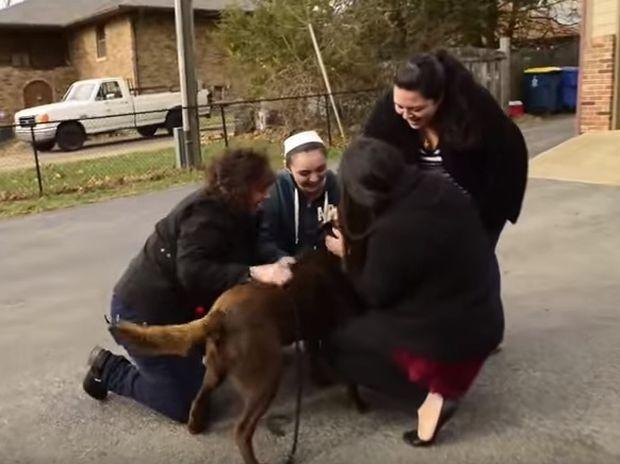 Έχασαν το σκύλο τους και τον ξαναβρήκαν 5 χρόνια μετά! Δε φαντάζεστε την αντίδρασή του! (video)