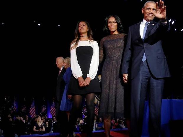 Γιατί η μικρή κόρη του Ομπάμα δεν πήγε στην ομιλία του; Η ερώτηση που βασάνισε το twitter