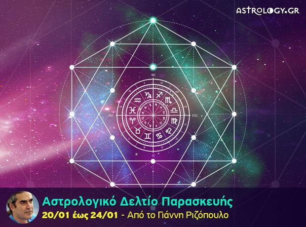 Αστρολογικό δελτίο για όλα τα ζώδια, από 20/1 έως 24/1