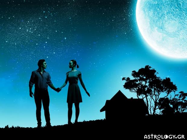 Ταιριάζει η Σελήνη σου με τη δική του; Μάθε πώς θα είναι η σχέση μαζί του